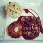 Restaurant La Rocca -Breast of duck with Pomegranate Sauce