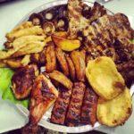 Restaurant La Rocca -Plate of Meat