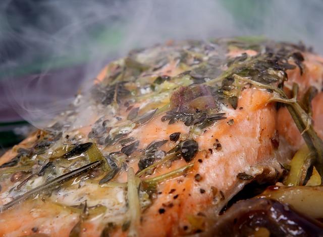 Moroccan Salmon - foodworldblog